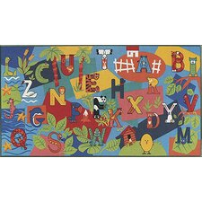 <strong>Custom Printed Rugs</strong> Children's Play Alpha Kids Rug