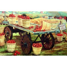 Apple Wagon Doormat