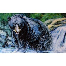 Black Bear Doormat