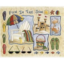 Home Accents Fun in The Sun Novelty Rug