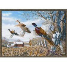Wildlife Pheasants Novelty Rug
