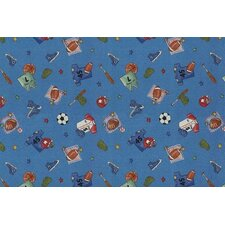 <strong>Custom Printed Rugs</strong> Children's Play Ball Kids Rug