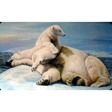 <strong>Custom Printed Rugs</strong> Polar Bears Doormat
