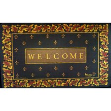 <strong>Custom Printed Rugs</strong> Regal Fleur De Lis Doormat