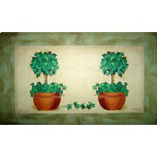 Topiary Pot Doormat