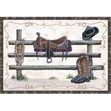 Home Accents Western Novelty Rug