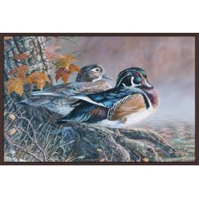 Wildlife Wood Ducks Novelty Rug
