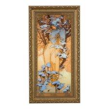 Wandbild Winter Die Jahreszeiten 1900 - 48 x 25 cm