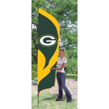 Tall NFL Team Flag