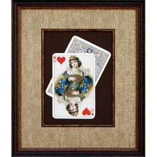 <strong>Phoenix Galleries</strong> Queen of Hearts Framed Print