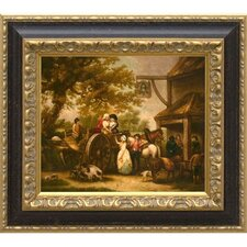 Ringing Bell Inn, Giclee on Framed Canvas