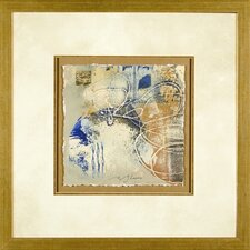 Blue and Gold 2 Framed Print