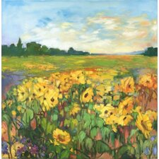 <strong>Phoenix Galleries</strong> Sunflower Field on Canvas