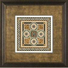 <strong>Phoenix Galleries</strong> Textile Motif 3 Framed Print