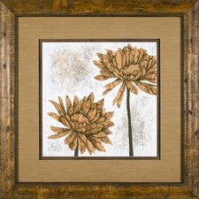 White Washed Dahlia 2 Framed Print