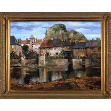 <strong>Phoenix Galleries</strong> La Seyne Sur Mer Canvas Transfer Framed Print