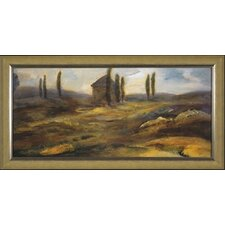 <strong>Phoenix Galleries</strong> Up on the Hill Canvas Transfer Framed Print