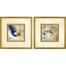 <strong>Phoenix Galleries</strong> Blue and Gold Framed Prints