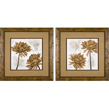 White Washed Dahlia Framed Prints