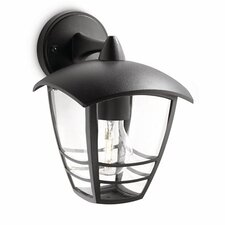 Creek 1 Light Outdoor Wall Semi-Flush Light