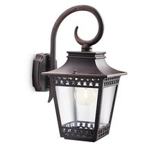 Hedge 1 Light Outdoor Wall Semi-Flush Light