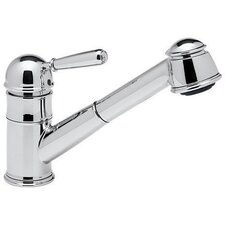 <strong>Rohl</strong> Pullout Single Metal Lever Single Hole Kitchen Faucet