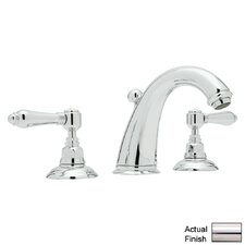 San Julio Double Handle Widespread Bathroom Faucet with Lever Handle and Pop-Up Drain