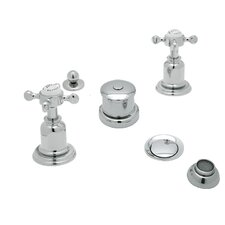 Perrin and Rowe Double Handle Vertical Spray Bidet Faucet