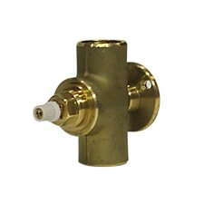 "0.75"" Concealed Wall Valve Rough Body Only Clockwise Opening Volume Control Trims"