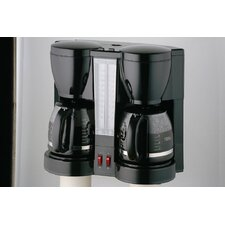 <strong>CucinaPro</strong> Specialty Electrics Double Carafe Coffee Maker