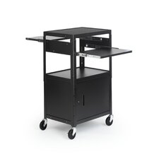 Adjustable Multimedia Cab Cart