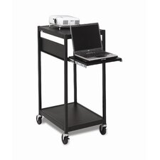 "24"" Wide Mobile Projector Cart"