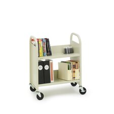 Two Shelf Booktruck