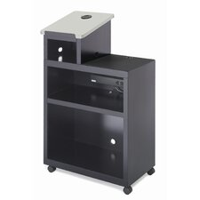 <strong>Bretford Manufacturing Inc</strong> Mobile Presentation Lectern with Data Projector Shelf