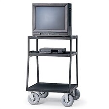 "48"" High Wide-Body UL Listed TV Cart"
