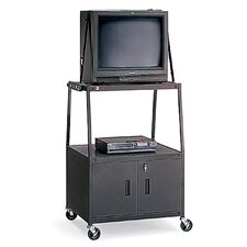 Wide-Body Cabinet UL Listed TV Cart