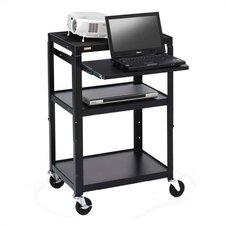<strong>Bretford Manufacturing Inc</strong> Adjustable Projector / Laptop Cart