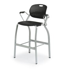Explore Arm Stacking Chair with Casters