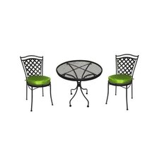 <strong>DC America</strong> Charleston 3 Piece Ice Cream Dining Set