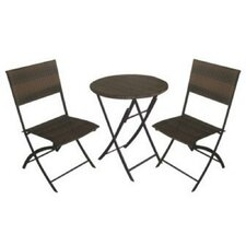 <strong>DC America</strong> La Jolla Folding Dining Chair, Set of 2