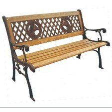 Champions Wood and Cast Iron Park Bench
