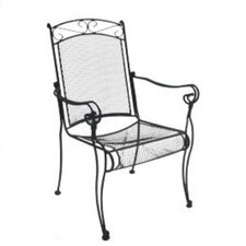 Charleston High Back Dining Arm Chair, Set of 4