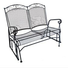 <strong>DC America</strong> Charleston Wrought Iron Garden Bench