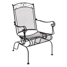 Charleston Wrought Iron High Back Rocking Chair, Set of 2 (Set of 2)