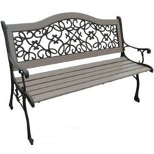 Dollar Wood and Cast Iron Park Bench