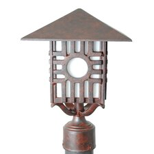 "<strong>Melissa Lighting</strong> Americana Zia Series 1 Light 15"" Post Lantern"