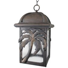 Americana Palm Tree Series 3 Light Hanging Lantern