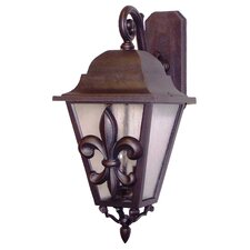 <strong>Melissa Lighting</strong> Americana Fleur De Lis Series Wall Lantern
