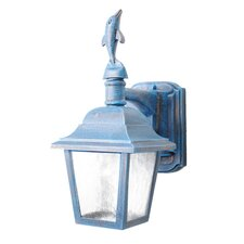 <strong>Melissa Lighting</strong> Americana Dolphin Series Wall Lantern