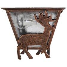 Americana Deer Series Flush Mount